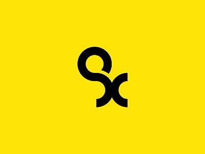 Ox type construction oxen ox type icon branding illustration vector design brand mark logo