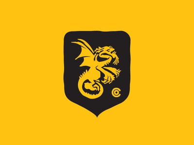Jabberwocky Heraldry Crest