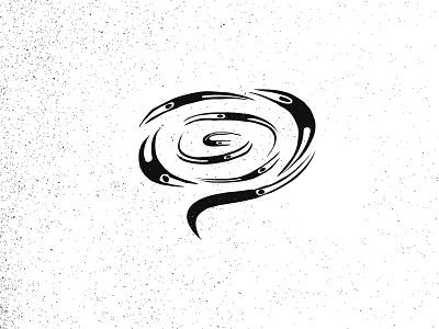 Inktober23 Muddy ( Word bubble + people + Confusion ) design black brand mark logo illustration