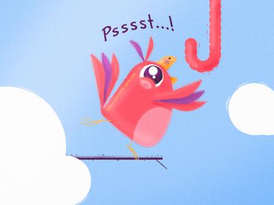 The Psst Psst Bird