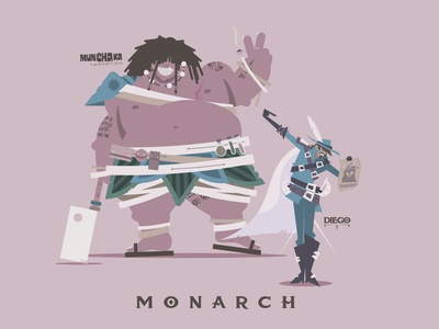 Munchaka & Diego – DND party