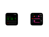 UI design for a(n imaginary) transport app