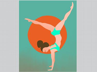 Movement #3, in progress. movement procreate illustration