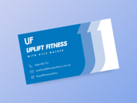 Uplift Fitness Business Card