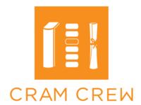The new Cram Crew logo