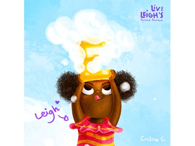 Brave Leigh kid illustration procreate childrens book book happy children kids illustration character design cute