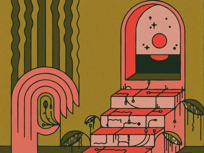 little land graphic color texture illustration