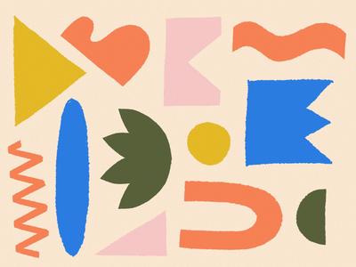 JOY / 05 texture color joy procreate illustration abstract