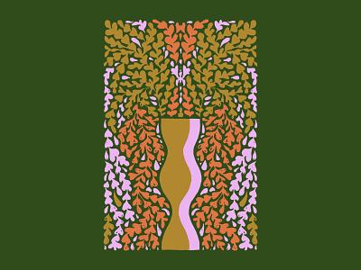 Love Flowers case flowers botanical color palette procreate color illustration