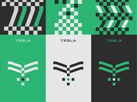 Tesla Rebrand Marks