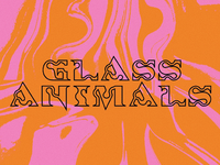 Glass Animals Custom Typeface
