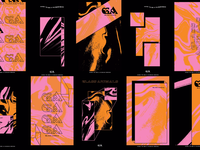 Glass Animals Tour Posters