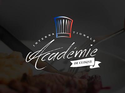 Logo Concept #1 (Académie Internationale de Cuisine) job contest concet 99designs