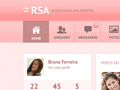 RSA (Logged Menu) rsa menu css