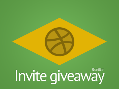 Invite Giveaway (Only for Brazilians) brazil invite giveaway