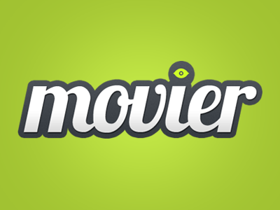 Movier movies social network logo