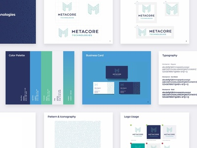 Metacore Technologies Brand Guidelines