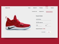 DailyUI #002: Credit Card Checkout Page