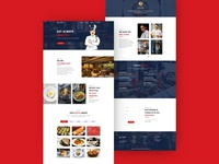 Ottoman Cafe Landing Page