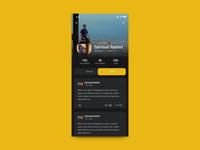 DailyUI #006: User Profile