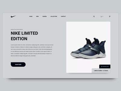 DailyUI #012: E-commerce Single Product Web Design