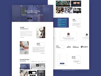 Web Design Autografitto