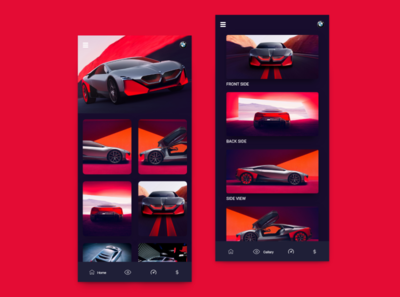 BMW Vision Next App Design