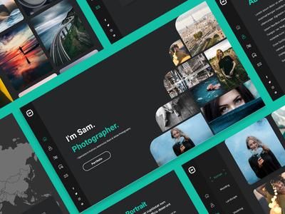 Photography Portfolio UI/UX Design