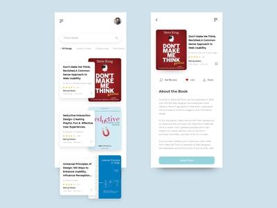 Book App Desing