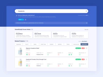 Herbascript Search Page