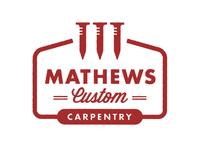 Mathews Carpentry logo