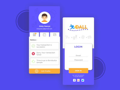 Login Apps android app development android app userexperiance design userinterface apps login