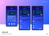 Visualization screen App