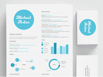 Personal Branding Project By Michael Ardan Dribbble