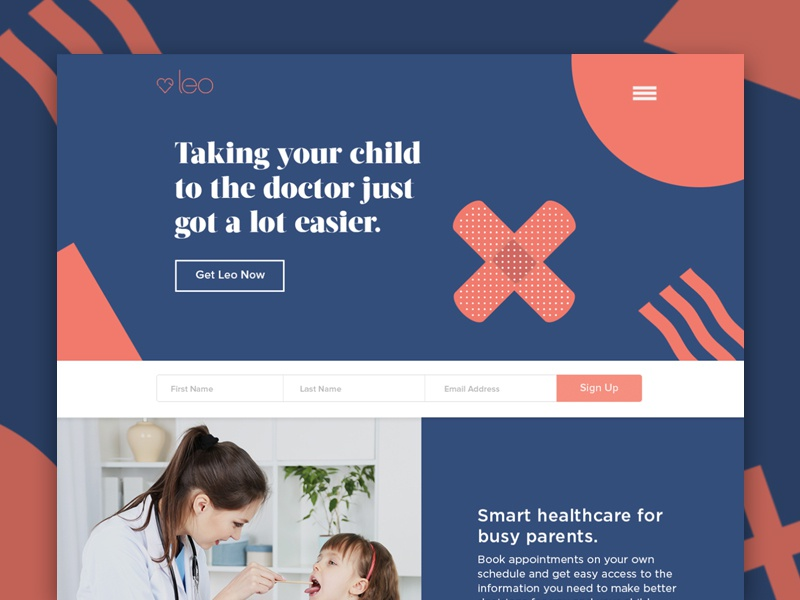 Leo Health by Michael Ardan | Dribbble | Dribbble