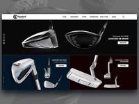 Cleveland Golf new landing page