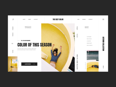 Yellow | Website template