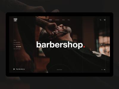 Shed barbershop redesign