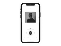 Mobile music player | Mobile app | Design and Animation