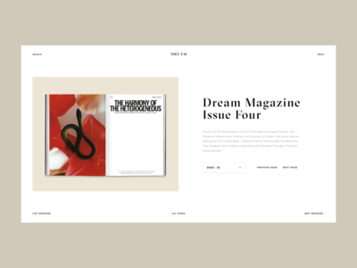 Dream Magazine Product Page
