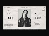 Soul+A Website | Random Page Animation