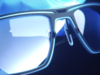 Parasite Eyewear 80s retro da art direction future eyewear film render octane animation 3d motion