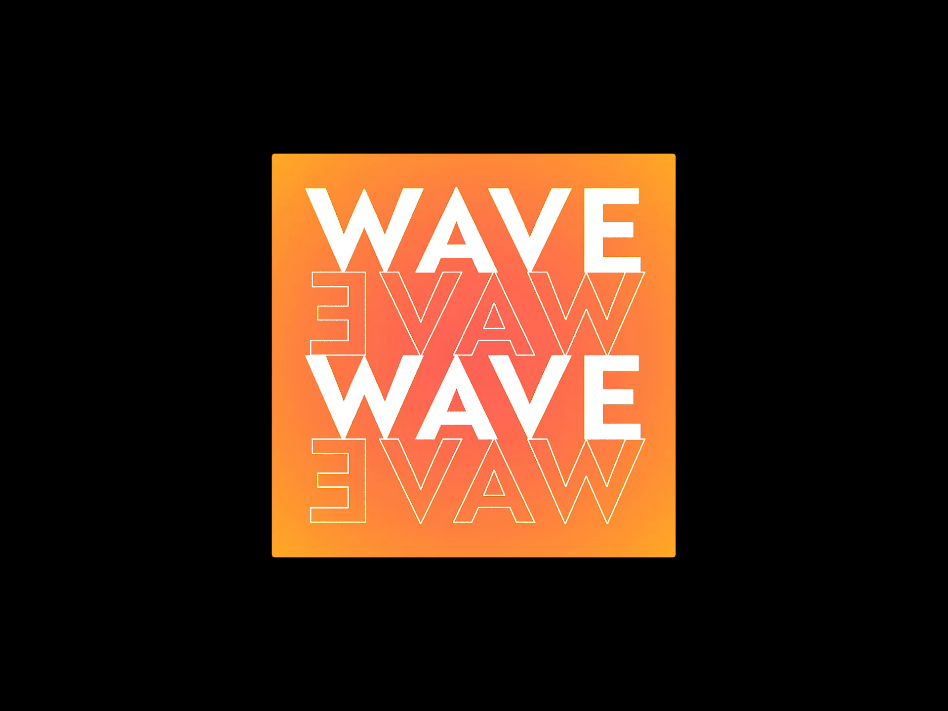WAVE EVAW FLAG