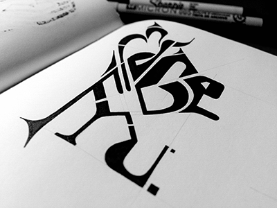 EdGeFru • (13-M90, #1)  edgefru typography lettering marker ink sketch hand drawn sketch photo © shockjoy hand lettering