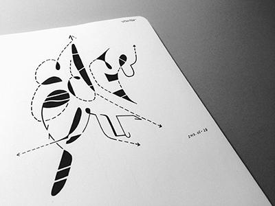 EdGefru • (13-M90, #2)  edgefru typography lettering ink marker vsco sketch © shockjoy hand lettering sketch photo
