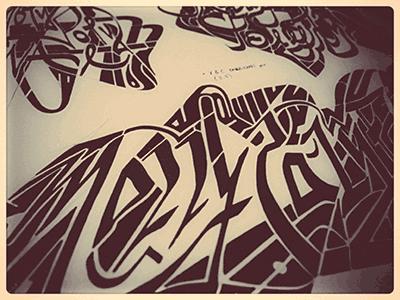 Mollypolyfinal • (13-M78) partial  © shockjoy lettering typography marker sketch ink hand lettering hand drawn old school sketch photo vsco mollypolyfinal