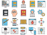 Programmers Vector Freebie Icon Set