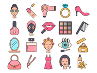 Beauty Vector Free Icons
