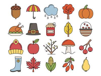 Autumn Vector Free Icons