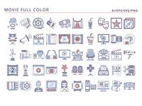 50 Movie icons